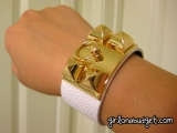 Hermes Inspired Cuff fromEtsy